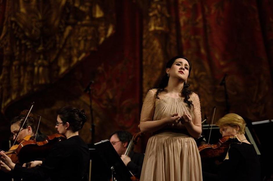 La soprano guatemalteca Adriana González fue galardonada. (Foto: Adriana