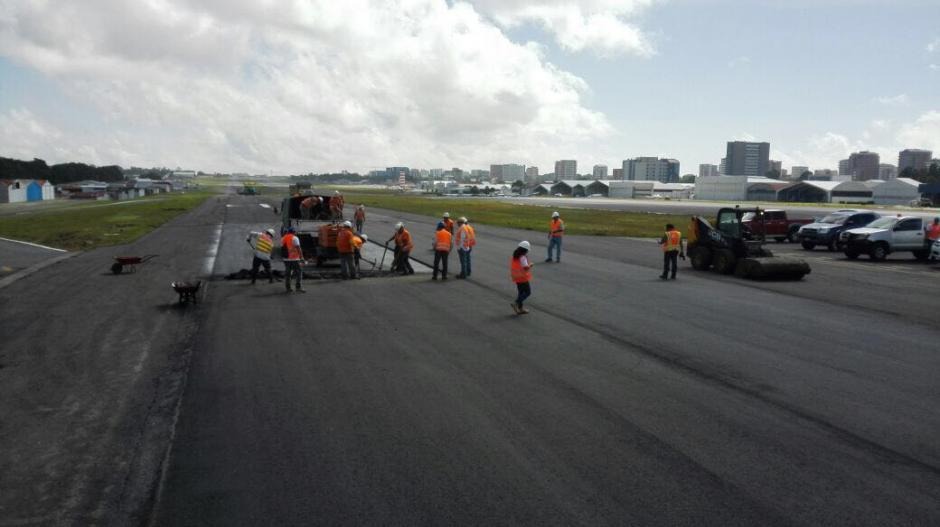 La Dirección de Aeronáutica compartió fotografías de los trabajos. (Foto: DGAC)