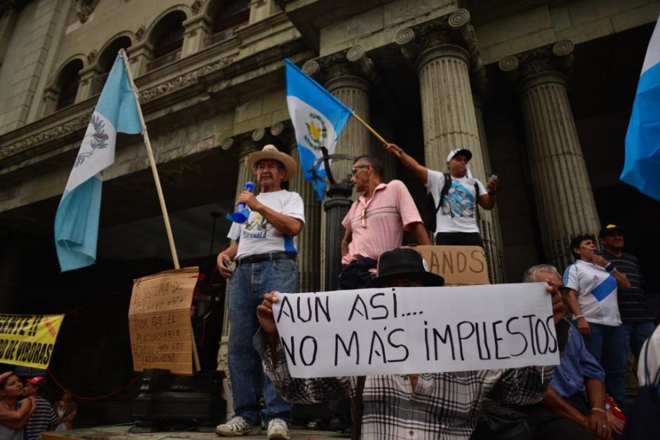 Aunque el movimiento no reunió a la misma cantidad de guatemaltecos que en 2015. (Foto: Jesús Alfonso/Soy502)