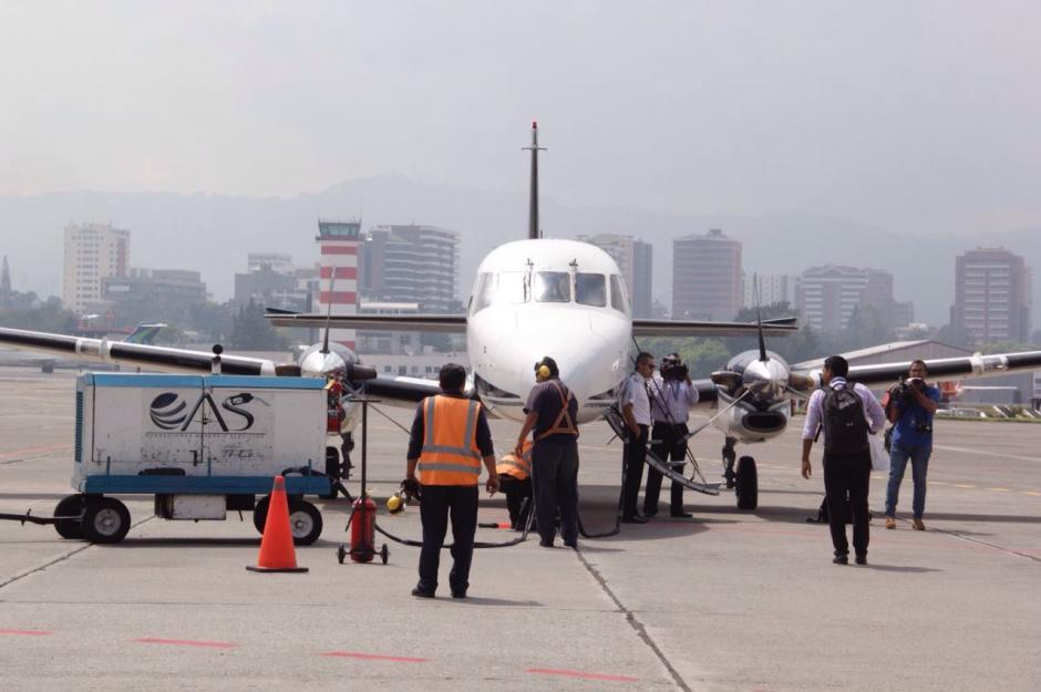 Este viernes iniciaron las operaciones del nuevo aeródromo de Retalhuleu. (Foto: Fredy Hernández/Soy502)
