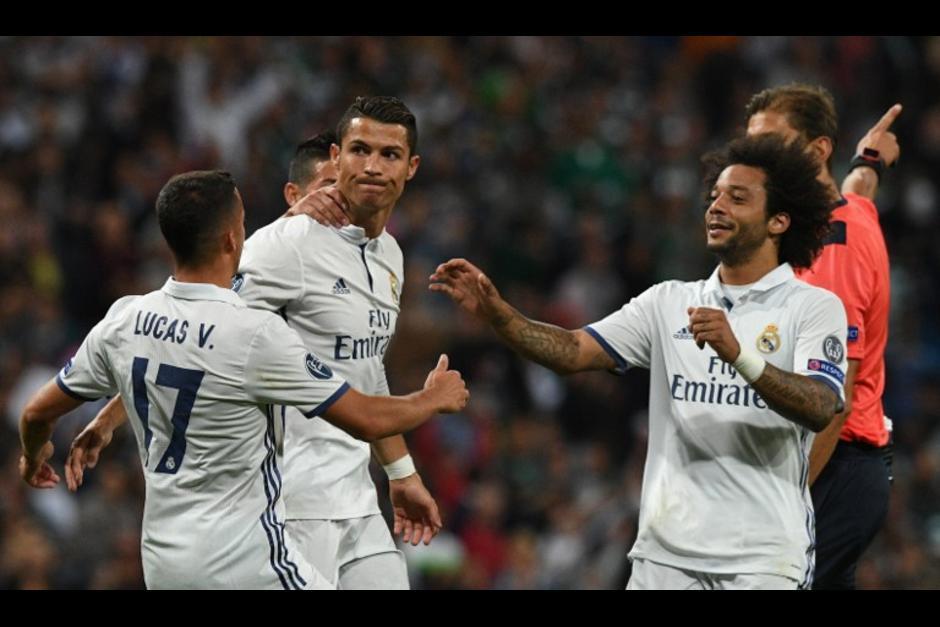 El gol de tiro libre de Cristiano Ronaldo empató el partido cuando faltaban dos minutos para finalizar. (Foto: AFP)