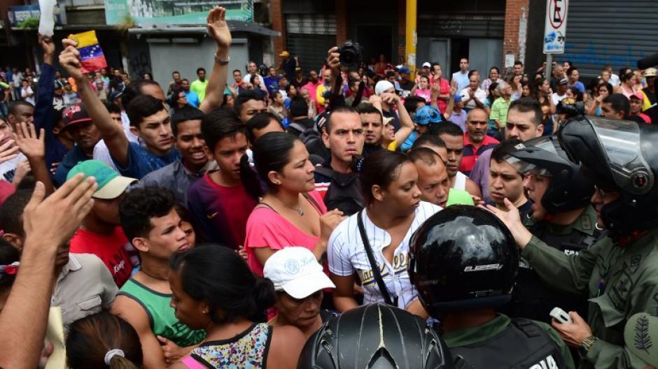 La escasez de comida en Venezuela ha causado protestas en el país. (Foto: AFP)