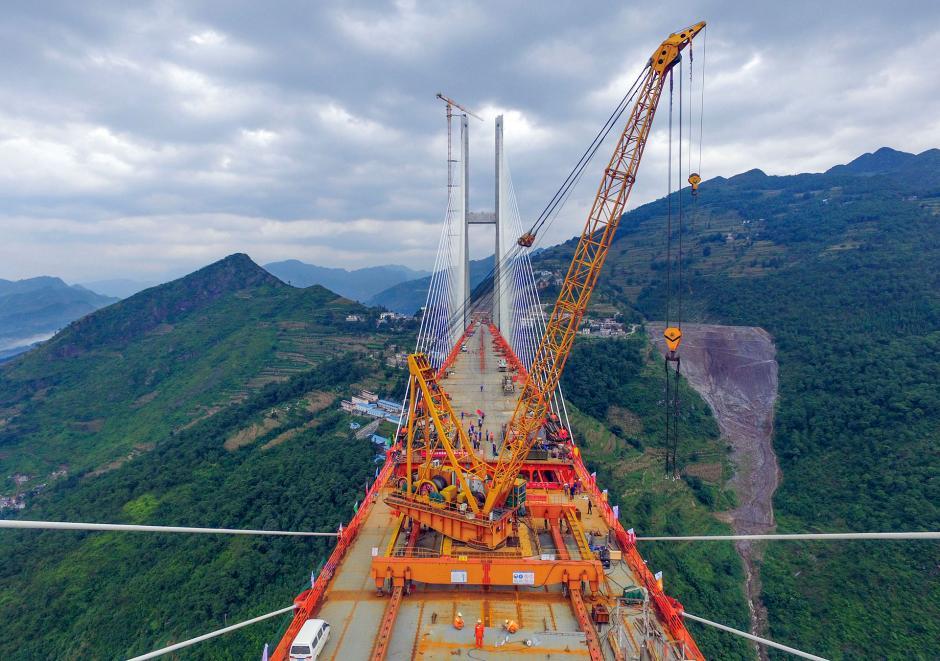 Las autoridades esperan que se abra para el tránsito antes de fin de año. (Foto: AFP)