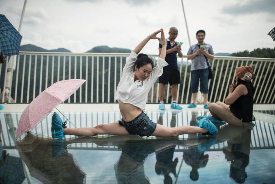 Miles de visitantes chinos y extranjeros han visitado la atracción. (Foto: AFP)