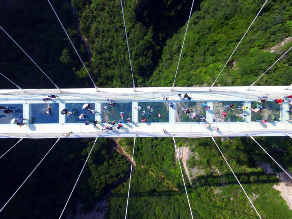 El puente fue realizado por el arquitecto israelí Haim Dotan. (Foto: AFP)