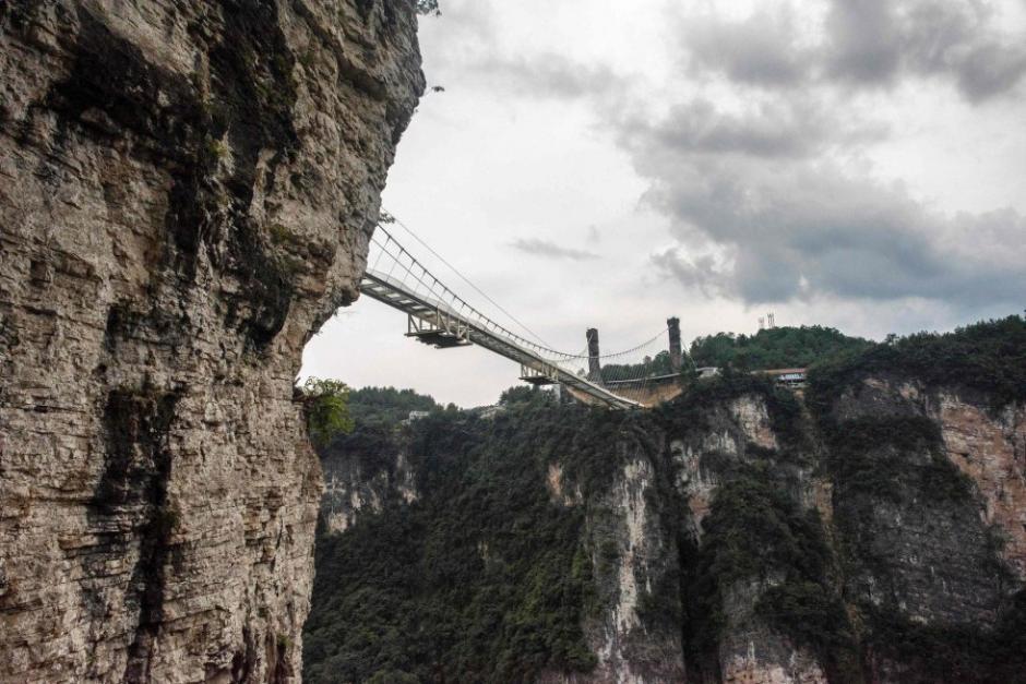 La estructura mide 430 metros de largo y 300 de alto. (Foto: AFP)