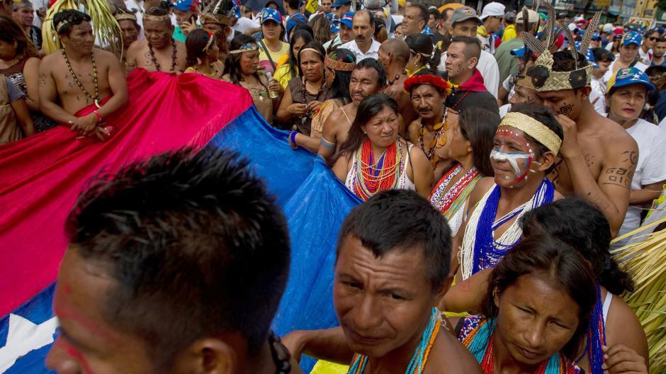 Esta marcha se considera que marcará el inicio de una nueva etapa de luchas en el país. (Foto: AFP)