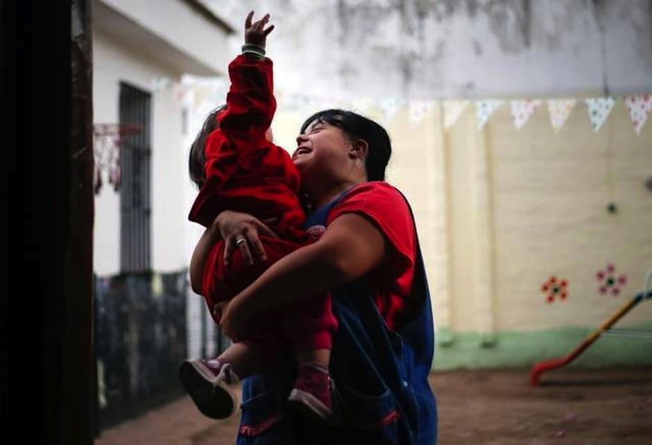 Noelia ha cambiado la manera de pensar de muchos, rompiendo las barreras de la discriminación. (Foto: AFP)