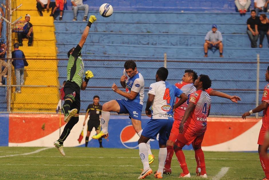 La victoria de Suchitepéquez sobre Iztapa abrió la jornada 14. (Foto: Nuestro Diario)