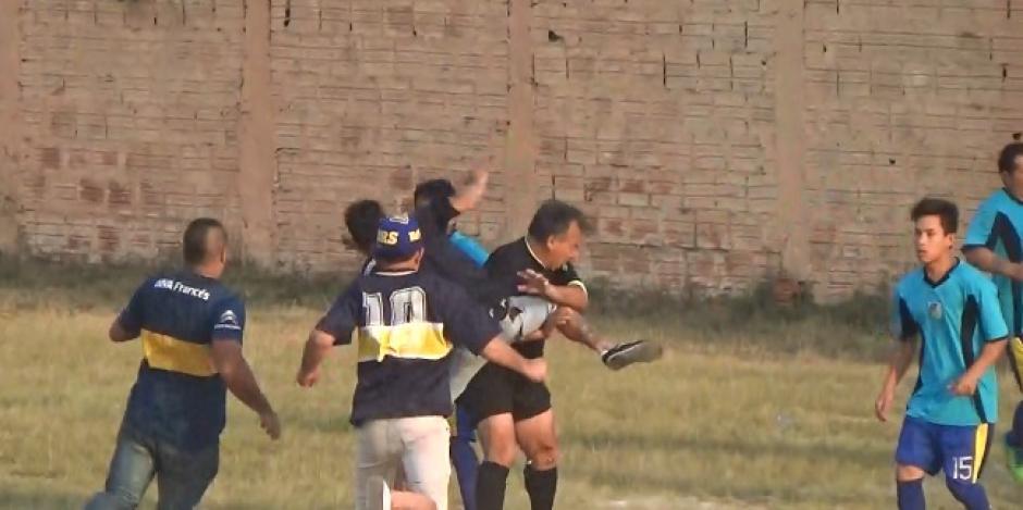 Aficionados agredieron al árbitro y jugadores rivales. (Foto: portal Primicias Clorinda)