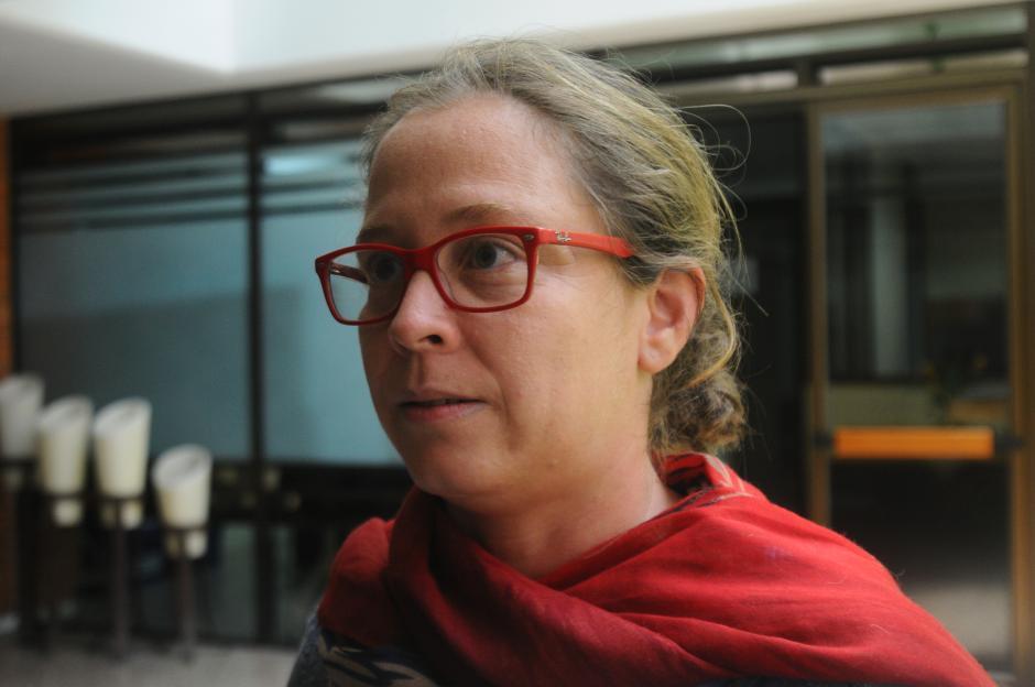 Anabella Meneses es la encargada de la producción en la finca ganadora de este año. (Foto: Alejandro Balan/Soy502)