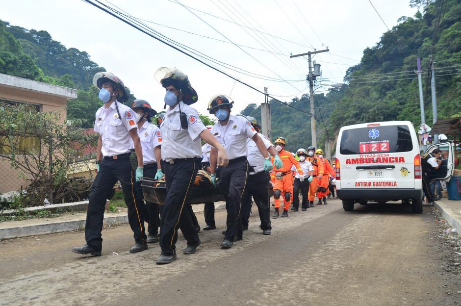 Equipo médico y vehículos son otras de las necesidades que tiene este cuerpo bomberil.(Foto: Alejandro Balán/Soy502)