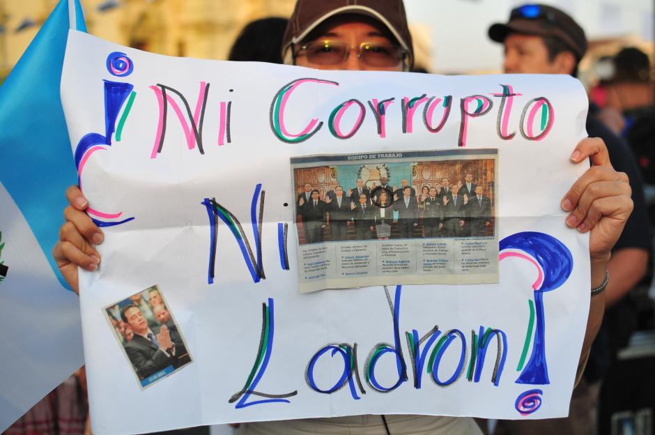 Algunos de los mensajes para el nuevo presidente es que destituya a la ministra de Comunicaciones, Sherry Ordóñez.(Foto: Alejandro Balán/Soy502)