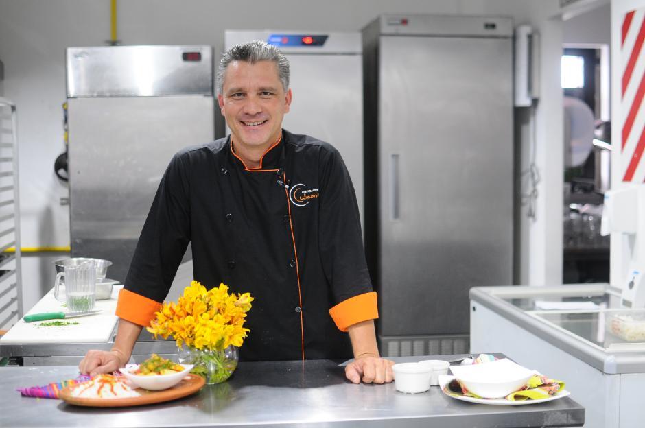 El Chef Pablo Lou. (Foto: Alejandro Balan/Soy502)