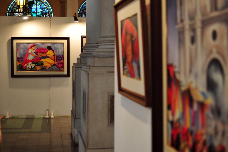 La exposición está abierta al público desde este lunes y hasta el 12 de enero. (Foto: Alejandro Balán/Soy502)