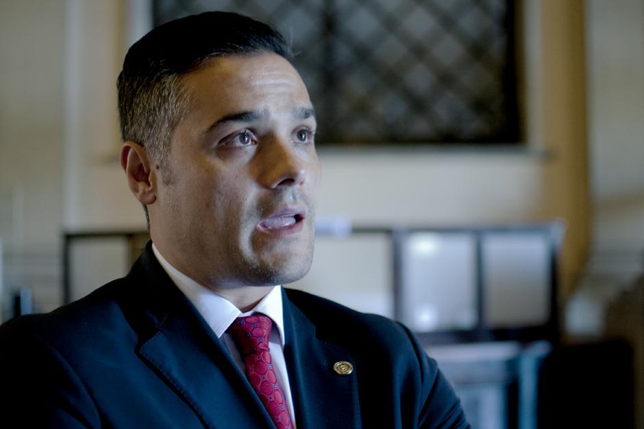 Cabrera acusó a Azmitia de tener un trato peyorativo con él. (Foto: Alejandro Balán/Soy502)