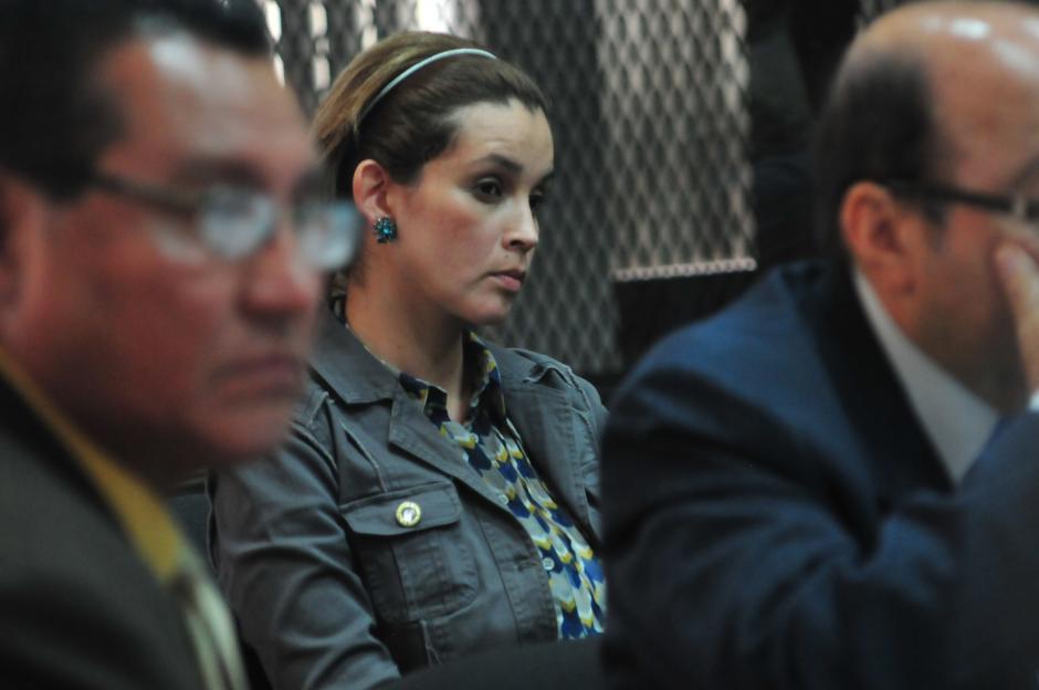 La audiencia se desarrolla en el Juzgado que preside Miguel Ángel Gálvez. (Foto: Alejandro Balán/Soy502)