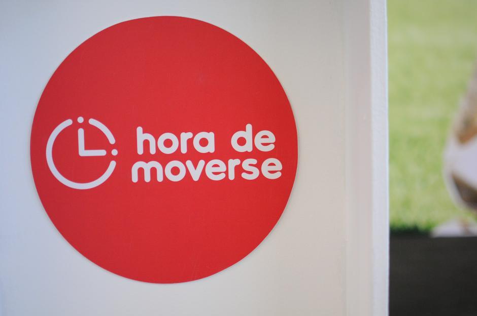 """El ministerio de Educación lanzó la edición 2016 del programa """"Hora de Moverse"""". (Foto: Alejandro Balán/Soy502)"""