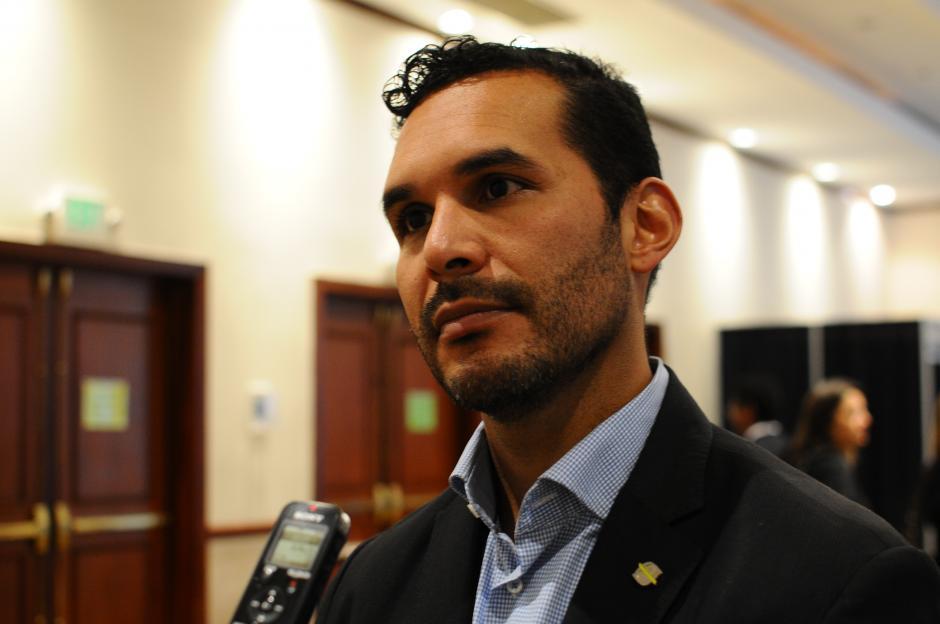 German Patiño es experto en ciberseguridad. (Foto: Alejandro Bálan/Soy502)