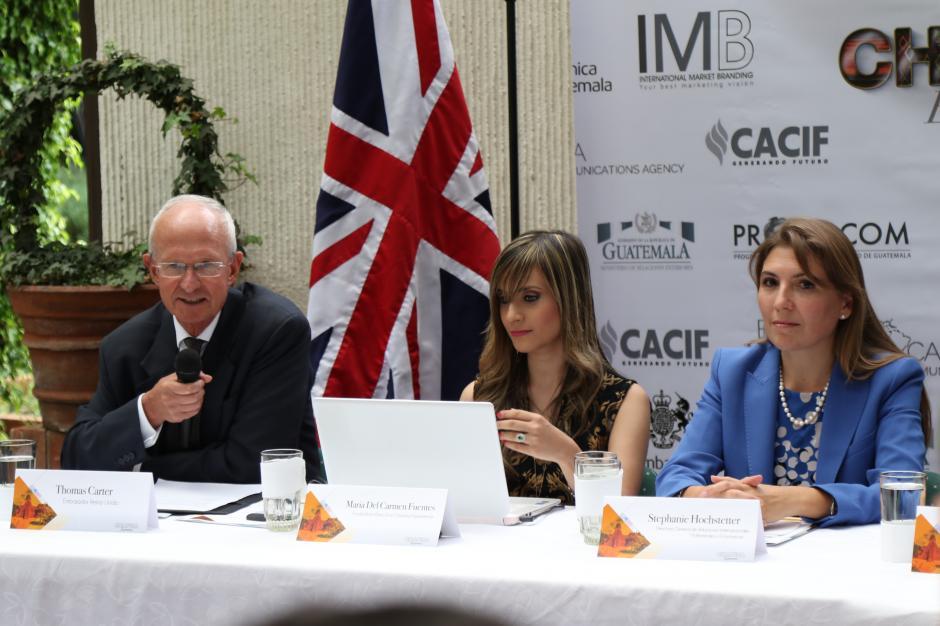 El embajador de Reino Unido Thomas Carter respalda el programa. (Foto: Alejandro Balám /Soy502)