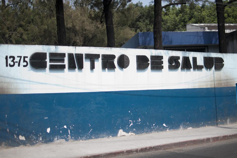 Fachada de centro de salud de la zona 6. (Foto Alejandro Balán /Soy502)