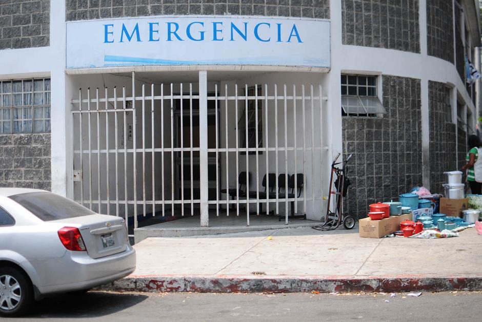 """El centro de salud de zona 7 es considerado tipo """"A"""" por contar con emergencia. (Foto Alejandro Balán /Soy502)"""