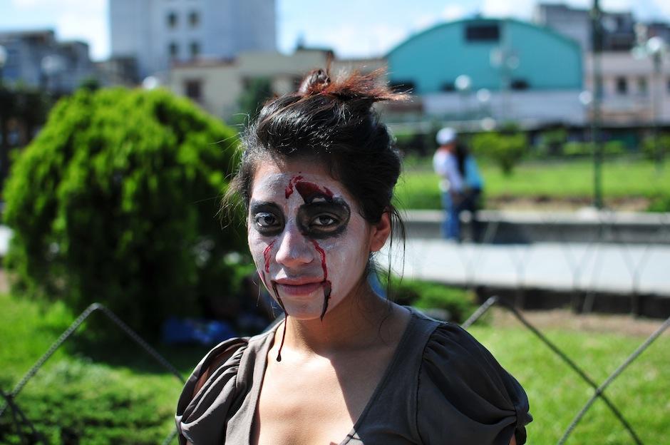 Los zombies también lloran. (Foto: Alejandro Balam/Soy502)