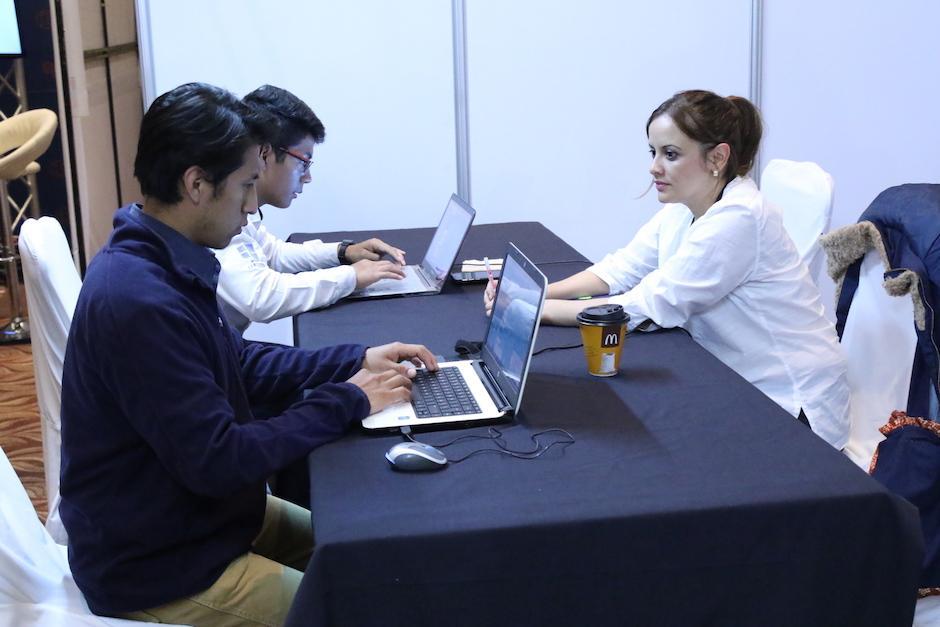 Los candidatos escogidos entrarán a un programa de capacitación y luego se les otorgará un trabajo. (Foto: Alejandro Balán/Soy502)