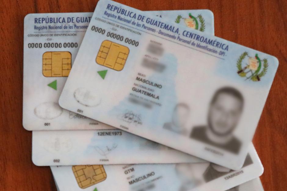 El CUI será ahora el número de licencia, pasaporte, NIT, afiliación del IGSS y carné de la Usac. (Foto: Alejandro Balán/Soy502)