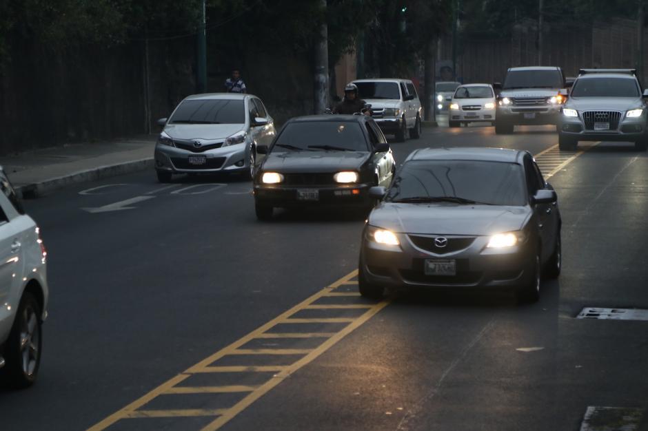 El plan piloto busca reducir el tráfico. (Foto: Alejandro Balán/Soy502)