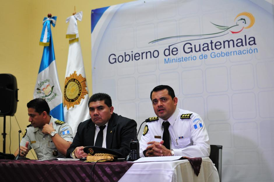 Las autoridades del Ministerio de Gobernación ofrecieron conferencia de prensa para detallar los hechos. (Foto: Alejandro Balán)