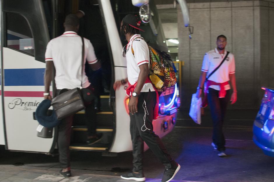 La selección de Trinidad y Tobago se concentró en Florida antes de viajar al país para el primer partido de la eliminatoria al Mundial 2018. (Foto: Alejandro Balan/Soy502)