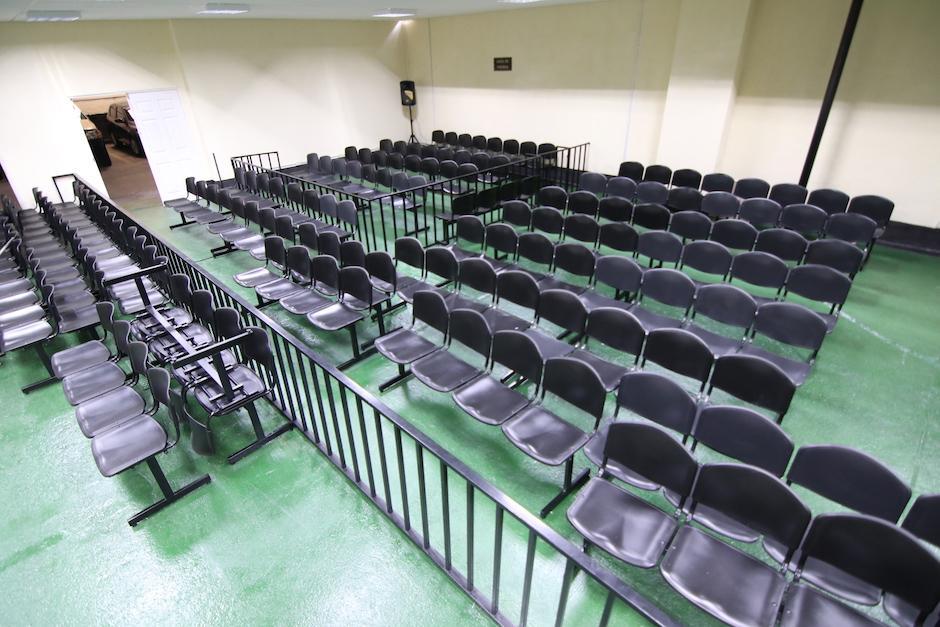 La sala tiene capacidad para 250 personas. (Foto: Alejandro Balan/Soy502).