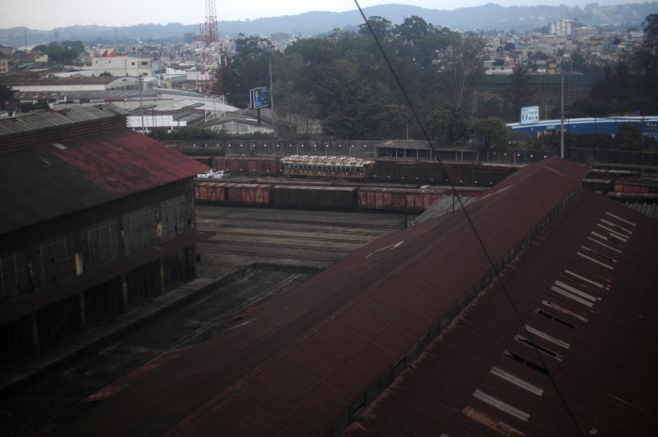 El complejo de Fegua en el Centro Cívico es el área asignado para construir el Centro Administrativo del Estado. (Foto: Alejandro Balán/Soy502)