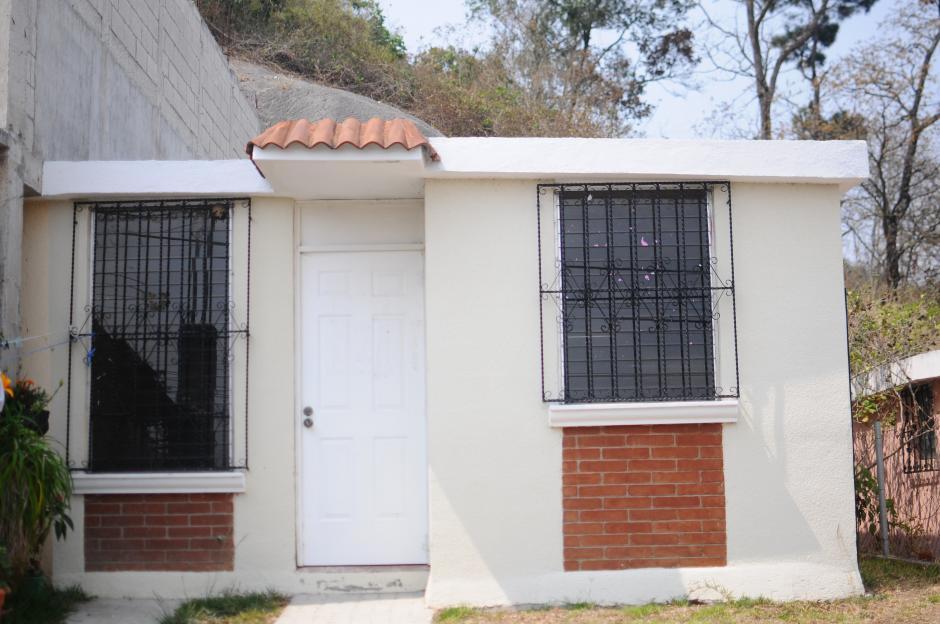 El sector III, que sería el que queda por construir, tendría las viviendas como esta casa modelo. (Foto: Alejandro Balán/Soy502)