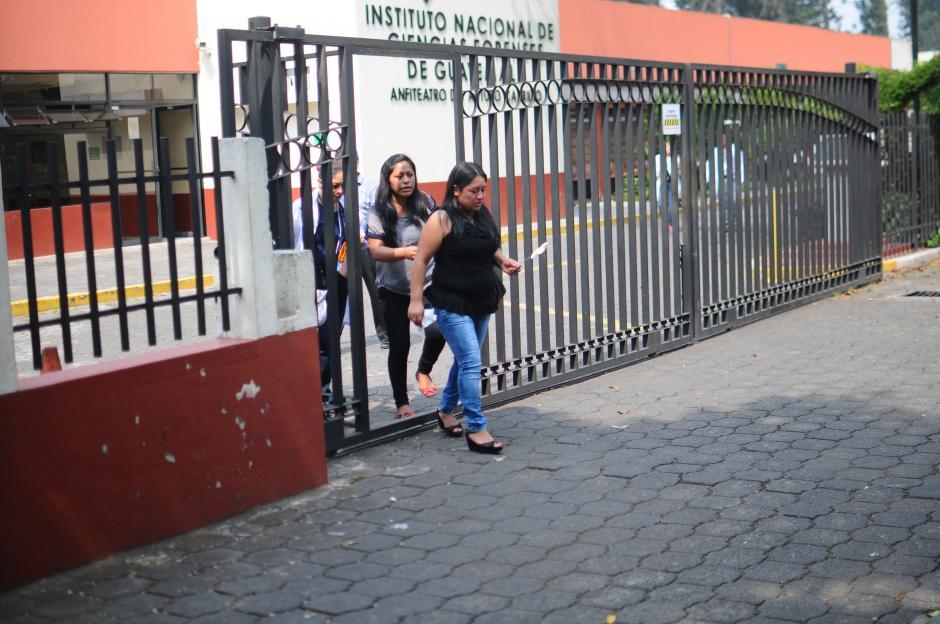 Los familiares de las víctimas han tenido que revivir los momentos de octubre pasado. (Foto: Alejandro Balán/Soy502)