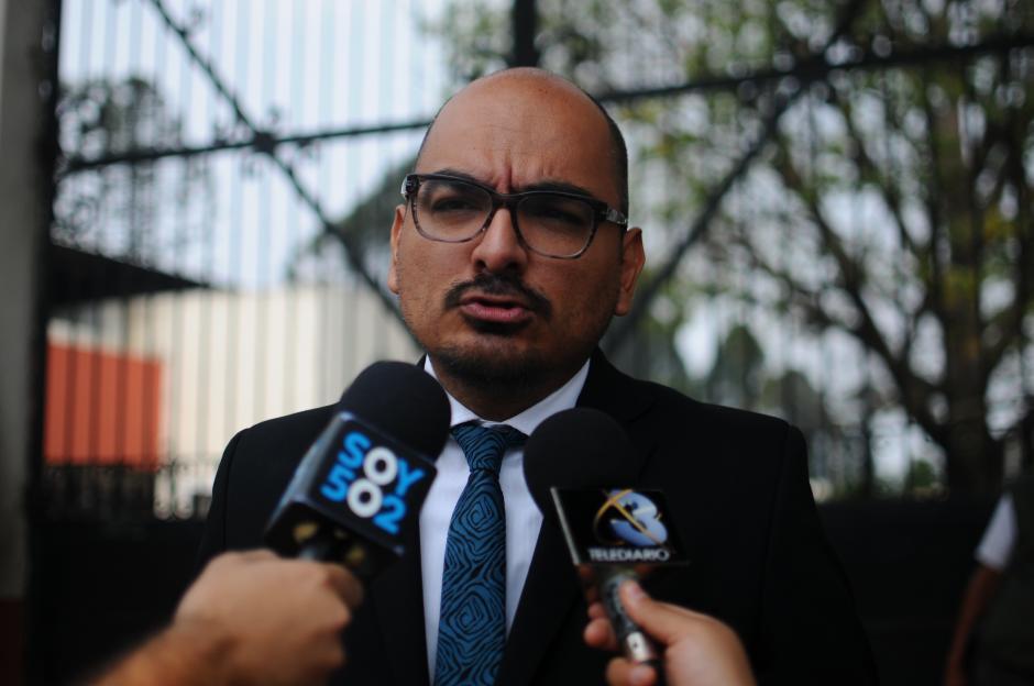 Roberto Garza, vocero de Inacif, adelantó que el viernes se darán cifras oficiales. (Foto: Alejandro Balán/Soy502)