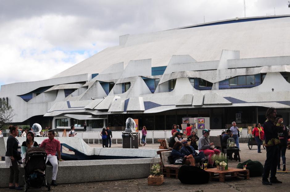 La actividad Soñé Futuro tuvo lugar en el centro cultural Miguel Ángel Asturias (Foto: Alejandro Balán/Soy502)