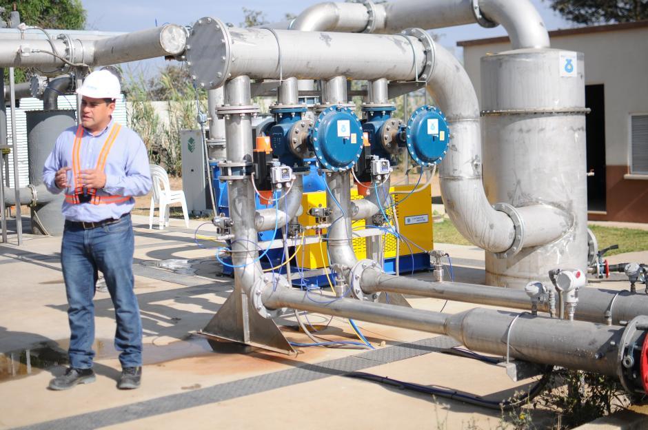 En Guatemala se produce energía renovable utilizando como combustible los gases de la basura del relleno sanitario de la zona 3. (Foto: Alejandro Balan/Soy502)