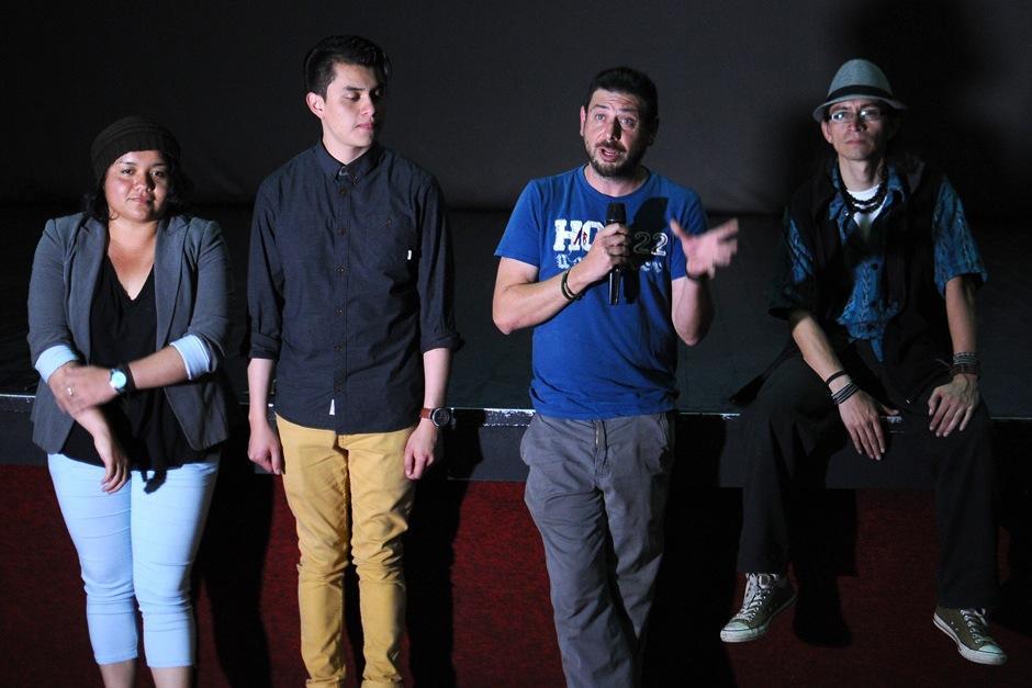La cinta fue presentada a medios de comunicación. (Foto: Alejandro Balam/Soy502)
