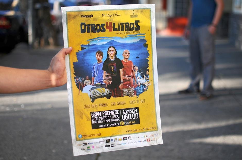 """Luego de casi dos años de producción, se estrena """"Otros 4 Litros"""". (Foto: Alejandro Balam/Soy502)"""