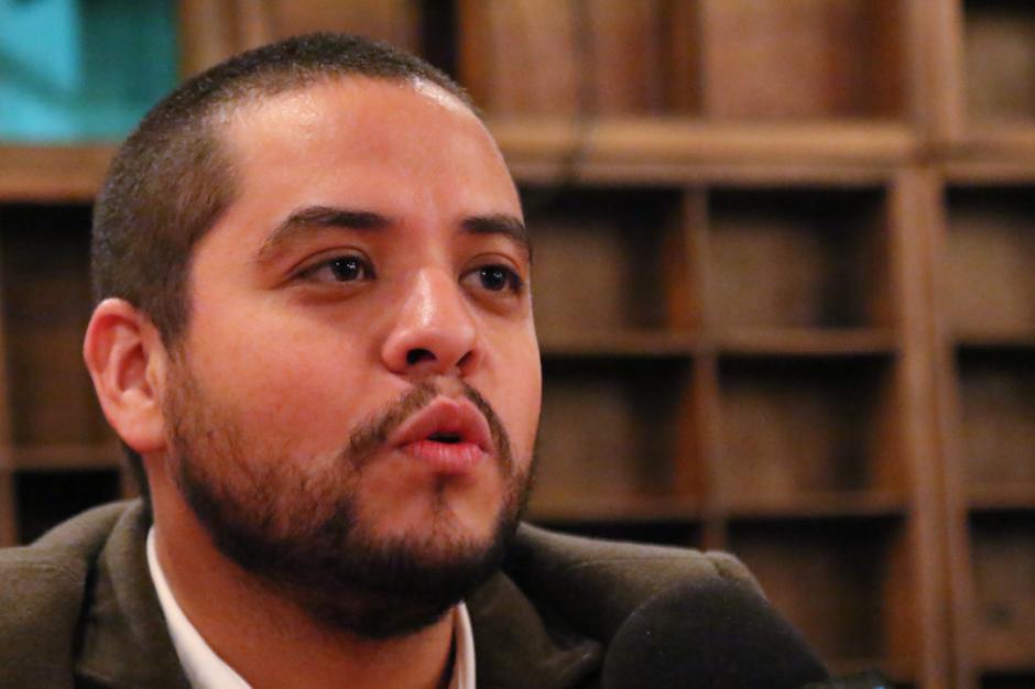 Javier Soria es de los iniciadores de la plataforma y explicó que el principal objetivo de Somos GT era formar un partido político. (Foto: Archivo/Soy502)
