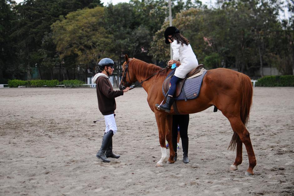 Los jinetes han desarrollado otras habilidades luego de practicar equitación. (Foto: Alejandro Balan/Soy502)