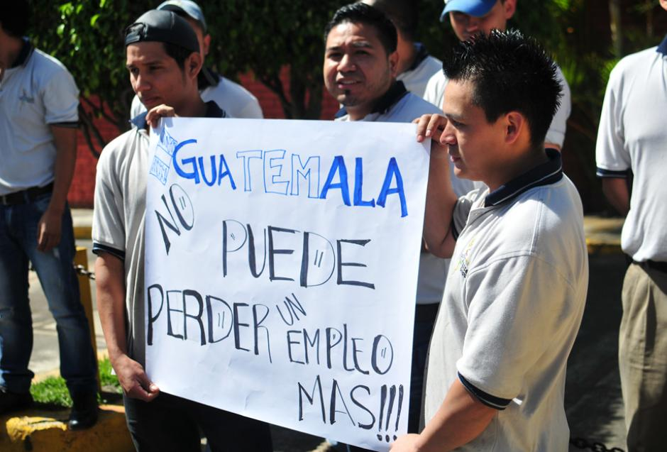 La mayoría de empleados del sector textil son jóvenes. (Foto: Alejandro Balán/Soy502)
