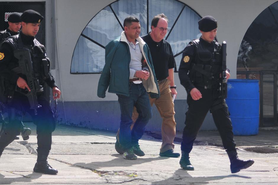 El presunto narcotraficante Mauro Salomón Ramírez fue enviado a los Estados Unidos por delitos de trasiego de cocaína. (Foto: Alejandro Balan/Soy502)