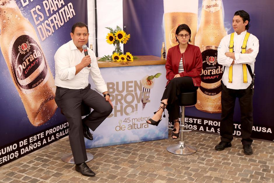 Se presentó a los medios de comunicación al chef a cargo de la experiencia. (Foto: Alejandro Balán /Soy502)