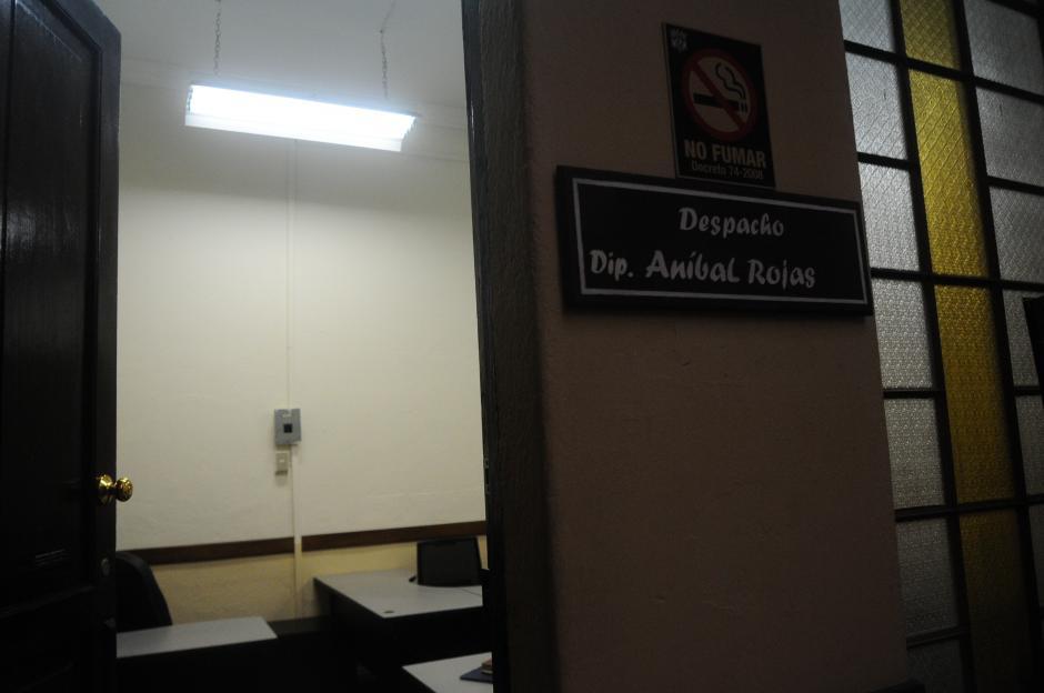 El Quinto Secretario del Congreso afirma que carecía de oficina. (Foto: Alejandro Balán/Soy502)