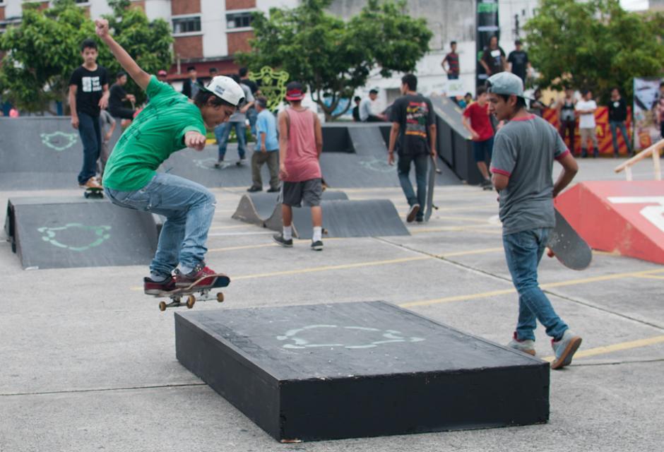 El festival es un espacio que busca impulsar apoyar y desarrollar el deporte extremo en Guatemala. (Foto: Alejandro Balan/Soy502)