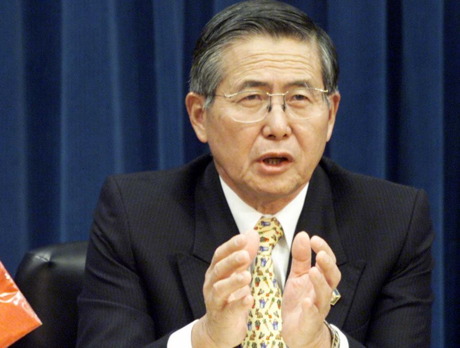 El expresidente peruano Alberto Fujimori, vendió la idea de la reelección presidencial en América Latina. (Foto: todanoticia.com)