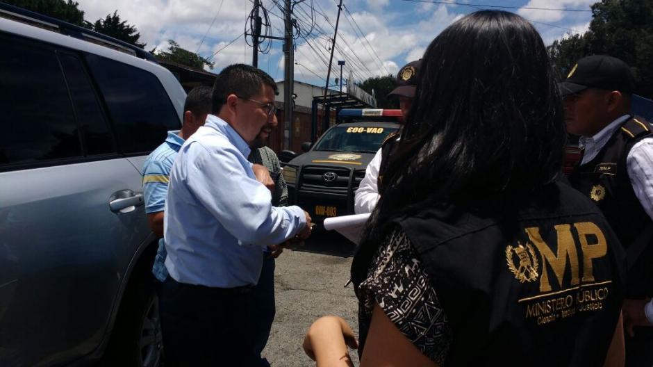 Las autoridades detuvieron a Víctor Alvarizaes por homicidio culposo. (Foto: Ministerio Público)